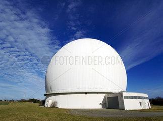Das Radom in Raisting  Antenne 1