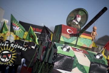 Afrin  Turkey-Kurds-Conflict Demo
