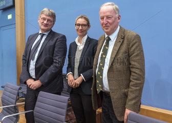 Meuthen + Weidel + Gauland