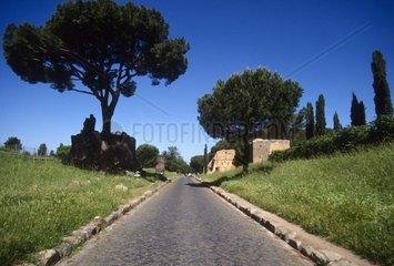 Italy  Lazio  Rome  the Via Appia
