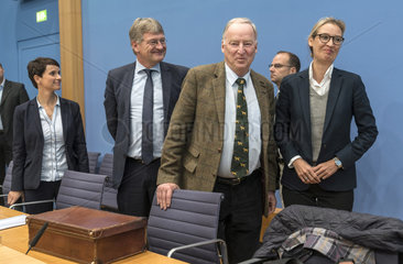 Petry + Meuthen + Gauland + Weidel