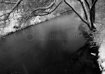 Isebek-Kanal im Winter
