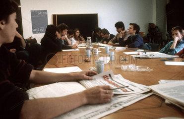 taz - Redaktionskonferenz