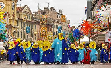 Carnival in Rijeka  Kroatien