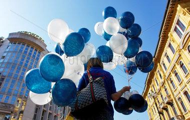 Luftballonverkauf