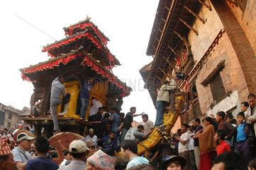 Nepal  Bisket Jatra Festival