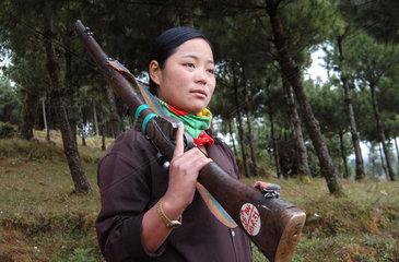 Nepal Maoist Rebels - Training Camp