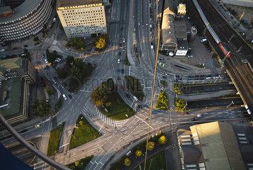 Kreuzung Deichtor - Luftbild