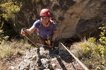 Klettersteig Via Ferrata Burrone Giovanelli