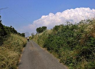 Radtour  Cornwall  England