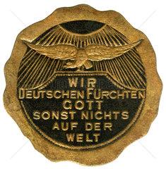 Patriotische Parole  Erster Weltkrieg  1915