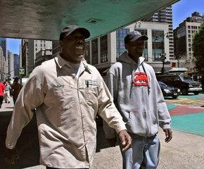 Passanten  Manhattan New York City