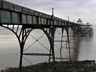 Pier von Clevedon  Somerset  England