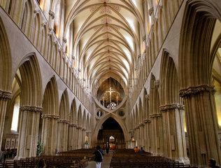 Kathedrale von Wells  Somerset  England
