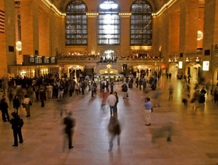 Grand Central Station  Manhattan New York City
