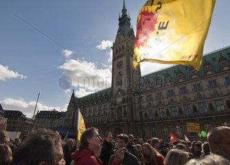 Anti Atomkraft Demo Abschalten  Hamburg