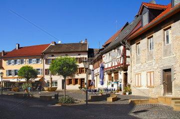Rapportierplatz in Meisenheim am Glan in Rheinland-Pfalz