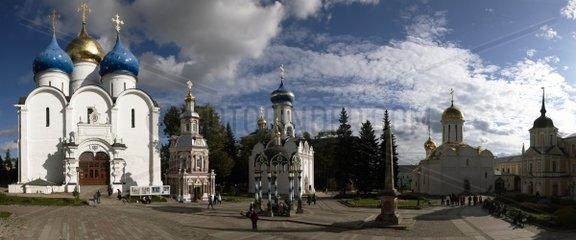Russia  Sergiev Posad  Zagorsk  St Serge Holy Trinity Monastery
