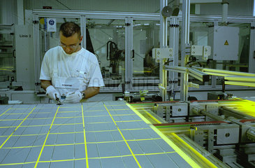 Solarglas-Produktion Fa. Scheuten