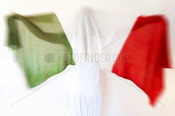 Woman with italian scarf