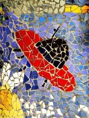 Bild aus Mosaiksteinchen