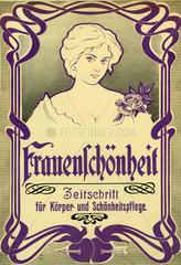 Frauenschoenheit  Zeitschrift  1899