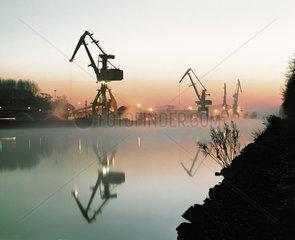 Morgenstimmung am Datteln-Hamm-Kanal