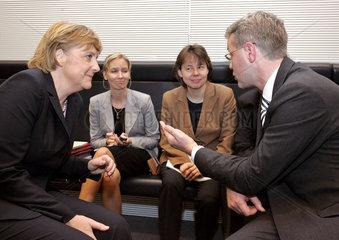 Merkel  Baumann  Christiansen  Roettgen