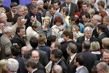 namentliche Abstimmung europaeischen Verfassung