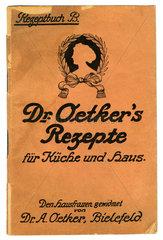 Dr. Oetkers Rezepte  1925