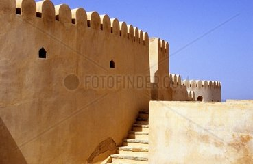 Oman  Nakhal the fortress of XVII century