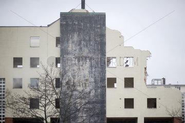 Abriss IBA Bauten am Luetzowplatz in Berlin-Tiergarten
