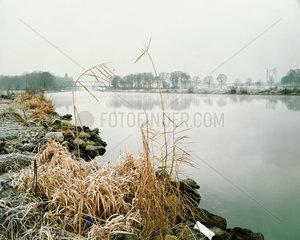 Wnterliche Stimmung am Datteln-Hamm-Kanal