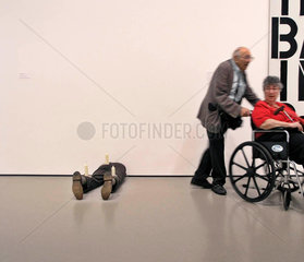 Besucher MoMA Museum of Modern Art Manhattan New York City