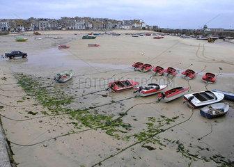 Hafen von St. Ives  Cornwall  England