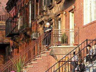 Juedischer Stadtteil Williamsburg  Brooklyn  New York City