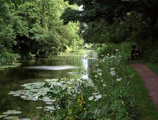 Grand Western Canal bei Tiverton  Devon  England