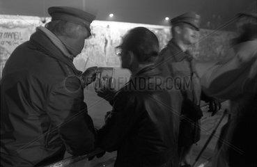 Berlin Mauer November 1989
