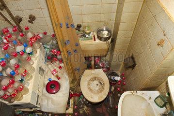 Badezimmer  Vermuellungssyndrom