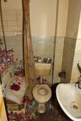 Messie-Badezimmer
