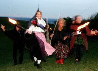Hexen in der Walpurgisnacht auf dem Walberla