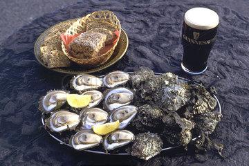 Irische Austern aus Galway