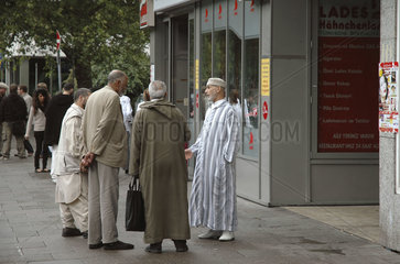 Muslime in Hamburg. St.Georg