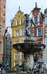 Poland  Gdansk  downtown