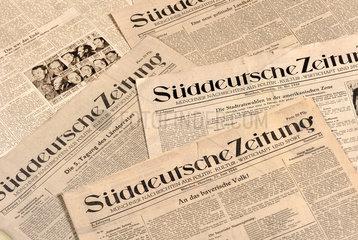 Sueddeutsche Zeitung  Muenchen  1946