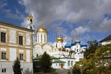 Russia  Sergiev Posad (Zagorsk)  St Serge Holy Trinity Monastery  Trinity Cathedral