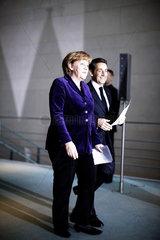 Merkel meets Sarkozy