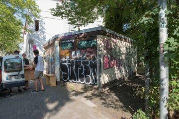 Graffiti  Aufkleber  Fiction