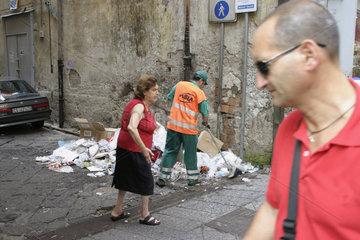 Neapel und der Muell