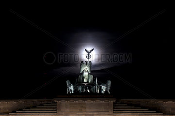 Super Moon  Berlin